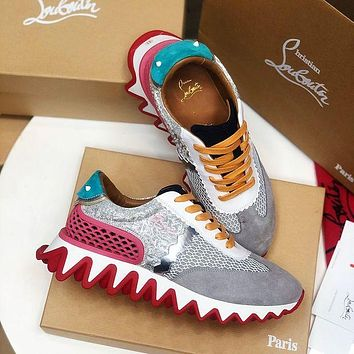 Christian Louboutin Casual Breathable Stylish Sneakers-9