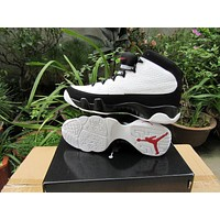 Air Jordan 9 Retro Aj9 White/black Sneaker Shoe