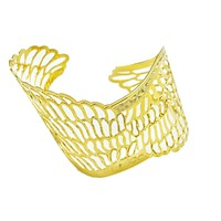 18k GL Angel Wings Cuff