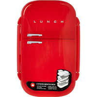 Red Retro Lunch Box