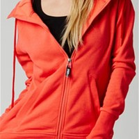 Fox Racing Womens Heritage Full Zip Fleece Hoody 10582-153