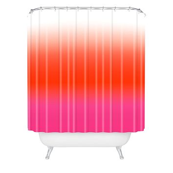 Natalie Baca Under The Sun Ombre Shower Curtain