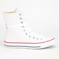 Converse All Star Hi-Rise Womens Shoes White  In Sizes