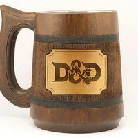Dungeon and Dragons Mug D&D Gift