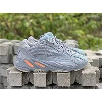 Adidas Yeezy 700 Boost New fashion running reflective lace-up sneakers-4