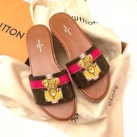 【Louis Vuitton】LV  Slipper