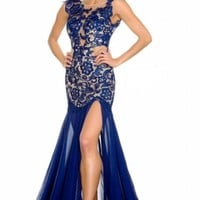 Sexy Black/Red Lace Evening/prom dress/Formal/Party/Ballgown/Sz 2 4 6 8 10 12