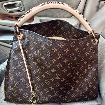 Louis Vuitton LV Classic Ladies Tote Bag Fashion Handheld Bucket Bag Shopping Bag