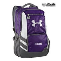 AMS UA Hustle Storm Backpack Purple - Speedway World