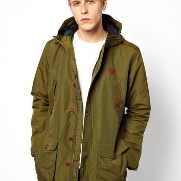 Fred Perry Parka with Hood