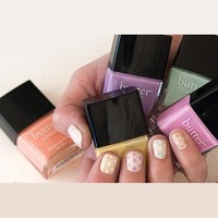 butter LONDON Nail Lacquer, White & Pink Shades, Fruit Machine