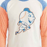 New York Mets Triad Raglan Tee