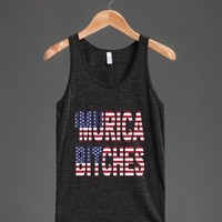 'Murica Bitches Tanktop - Country Apparel - Skreened T-shirts, Organic Shirts, Hoodies, Kids Tees, Baby One-Pieces and Tote Bags