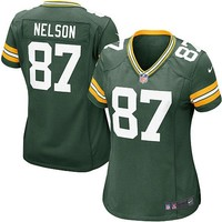 Nike Jordy Nelson Green Bay Packers Women's Game Jersey - Green