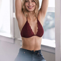 Out From Under Trina Lace Halter Bra   Urban Outfitters