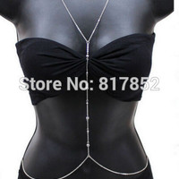 HOT SELLING New Style BY460 Women  Chains Simple Sexy Beads Bikini Chains Beach Chains Chains 2 Colors