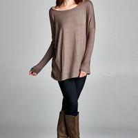 The Everyday Long Sleeve - Mocha