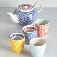 Oolong Time Coming Tea Set by ModCloth