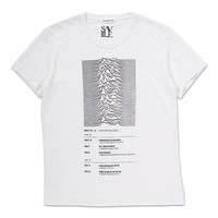 UNKNOWN PLEASURES [T-SHIRT] - museum neu store - ミュージアムニュー公式通販