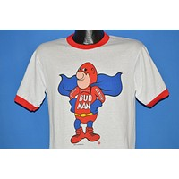 80s Bud Man Budweiser Superhero t-shirt Medium