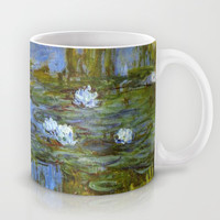Claude Monet, 1917.   Waterlily oil on canvas.   Mug by ArtsCollection