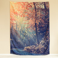 Nature Multicolour Wall Tapestry