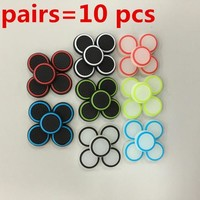 10pcs 3D Silicone colorful Cap anti-slip Thumbsticks Joystick Caps Cover for PS4/PS4/XBOX ONE/XBOX 360 PS4 Pro PS4 Slim