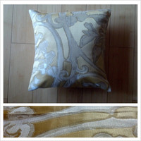 GypsyLuxe Sunny golden floral pillow sham