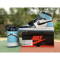 Air Jordan 1 Retro High OG UNC Blue Chill | CD0461 401-1