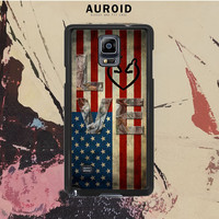 Deer Camo With Love Flag Samsung Galaxy Note 3 Case Auroid