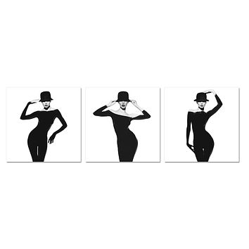 Vogue Acrylic Painting Set of 3