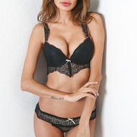 Hot Deal Cute On Sale Sexy Hot Sale With Steel Wire Mat Ladies Set Exotic Lingerie [10727290819]