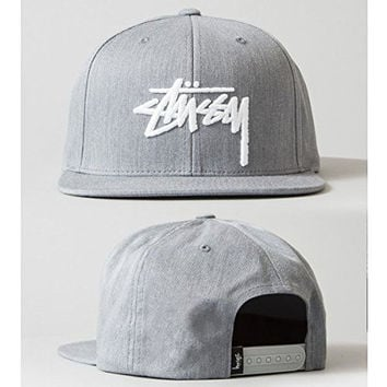 Stussy Snapback One Size Adjustable Fitted Hats