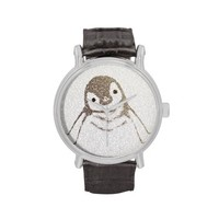 The Intellectual Penguin Wrist Watches