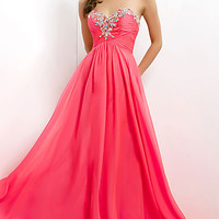 Strapless Formal Gown by Blush