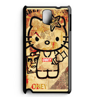 Obey Hello Kitty Samsung Galaxy Note 3 Case