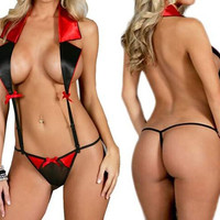 Sexy Hot Women Ladies Lingerie Nightwear Underwear Sleepwear Babydoll G-String = 1932530884