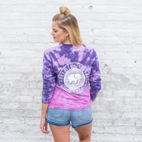 Classic Fit Neon Purple Ombre Tee