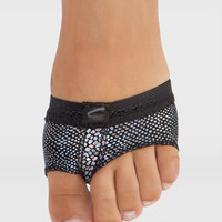 Free Shipping - Hologram Print FootUndeez by CAPEZIO