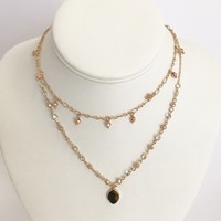 Keep It Classy Tiger Gold Layered Necklace