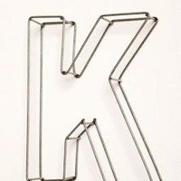 """UrbanOutfitters.com > Wire Frame 10"""" Letters"""