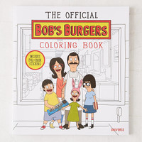 The Official Bob's Burgers Coloring Book By Loren Bouchard & The Creators Of Bob's Burgers | Urban Outfitters