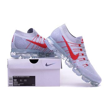 """""""Nike Air VaporMax"""" Unisex Sport Casual Fly Knit Air Cushion Sneakers Couple Running S"""