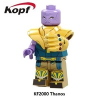 Deadpool Dead pool Taco KF2000 Super Heroes Avengers 3 Infinity Gauntlet Power Stones Thanos Gloves Vision  Building Blocks Toys For Children AT_70_6