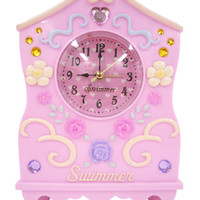 Antique clock light pink - ONLINE SHOP - SWIMMER