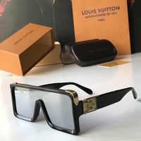 LV Louis Vuitton Woman Men Fashion Summer Sun Shades Eyeglasses Glasses Sunglasses