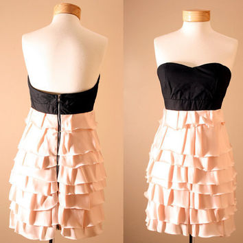 LAST ONE Evan Corset Strapless Dusty Pink Princess by PYTboutique