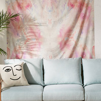 Stephanie Corfee For DENY Watercolor Damask Tapestry   Urban Outfitters