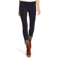 Suede-Patch Jodhpur Legging