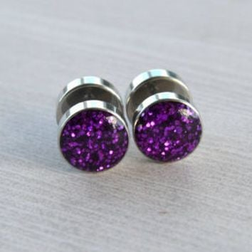 Tapers 316L Surgical Stainless Steel Triangular Spiral Taper 2g WickedBodyJewelz - Sold as a Pair 6.5mm